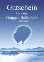 Gutschein Gruppenballonfahrt
