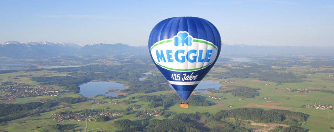 Meggle über dem Chiemgau