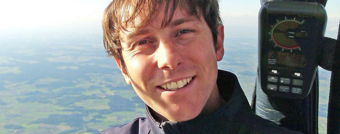 Pilot Wolfgang Schnaiter jun.