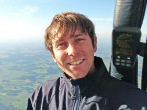 ballon pilot Wolfgang Schnaiter jun.