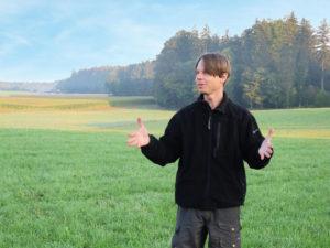 Ballonfahrer Thomas Gebauer