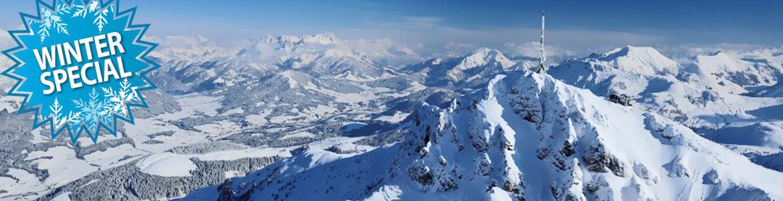 Winter Spezial Alpen-Ballonfahrt in St. Johann